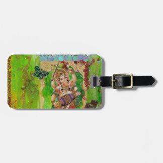 Ganesha Luggage Tag
