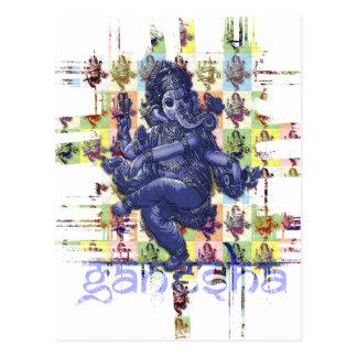 GANESHA   make your own background Postcard
