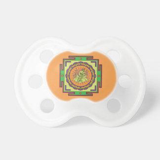 Ganesha Mandala Baby Pacifiers