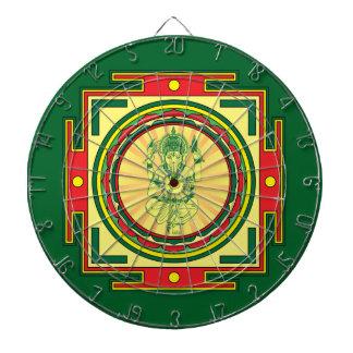 Ganesha Mandala Dartboard