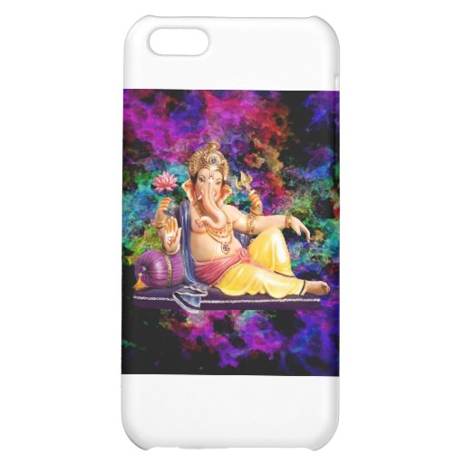 Ganesha picture on electronic s, magnets, etc case for iPhone 5C
