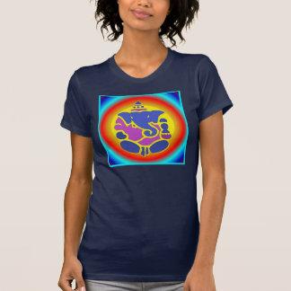 Ganesha Rainbow Mandala Top