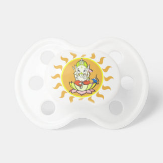 Ganesha: remover of obstacles baby pacifiers