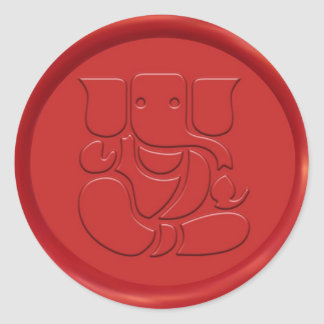Ganesha Sign Wax Seal