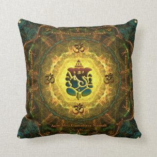 Ganesha - Success, Victory, Prosperity, Knowledge Throw Pillow