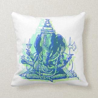 "Ganesha Throw Pillow 16"" x 16"""