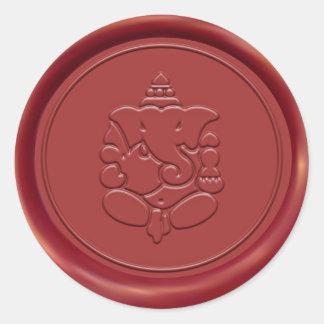 Ganesha Wax Seal