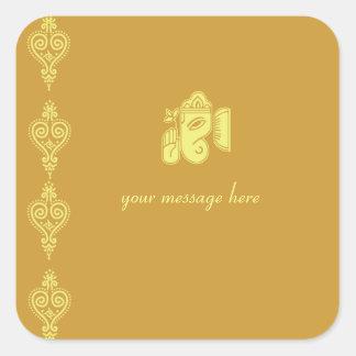 Ganesha Wedding Stickers
