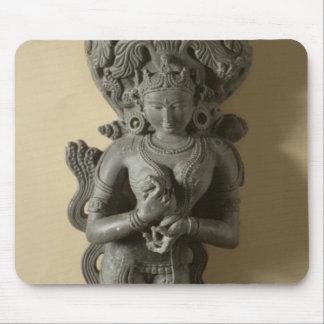 Ganga, goddess who personifies the sacred River Ga Mouse Mat