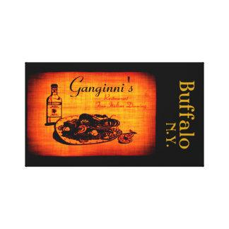 Ganganni's Buffalo Canvas Prints