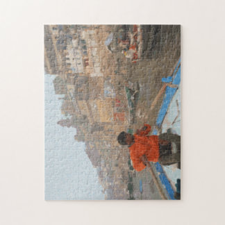 Ganges in Varanasi Jigsaw Puzzle
