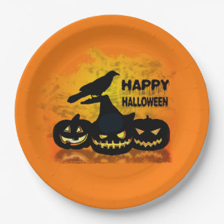 Gangs All Here Halloween Party Paper Plates