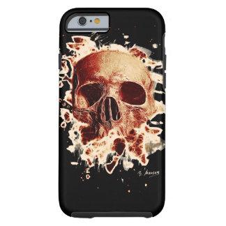 Gangs Skull - reddish Tough iPhone 6 Case