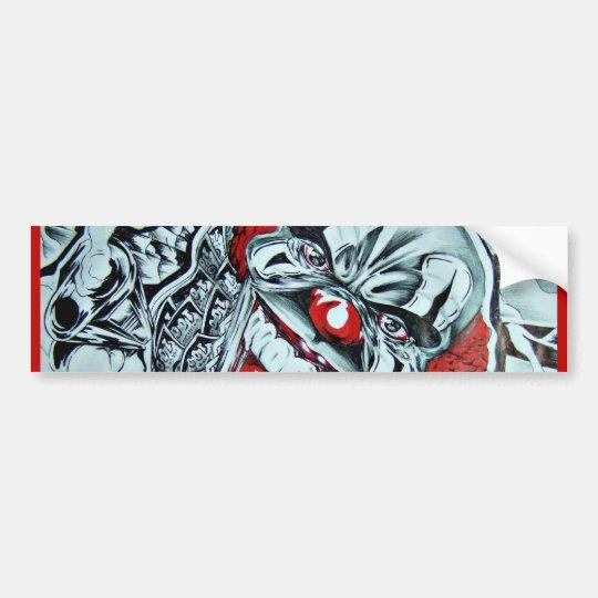 Gangsta Bumper Sticker