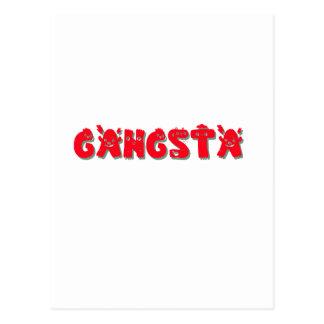 Gangsta Gangsta Postcard