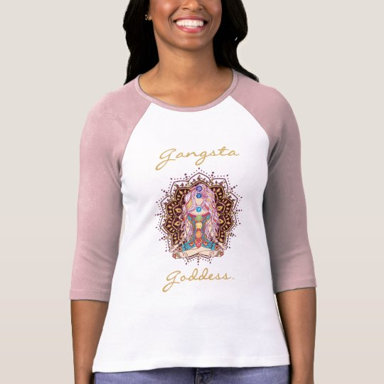 Gangsta Goddess - Chakra Women's T-Shirt