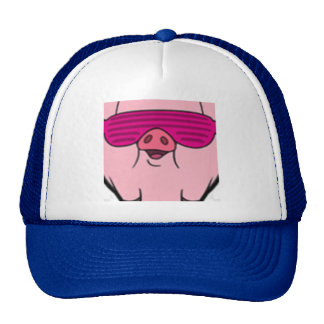 Gangsta piggy great looking hat