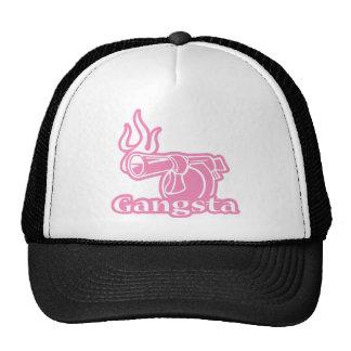Gangsta - Pink Gangster Gun Mesh Hat