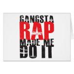 Gangsta Rap Made Me Do It - Black