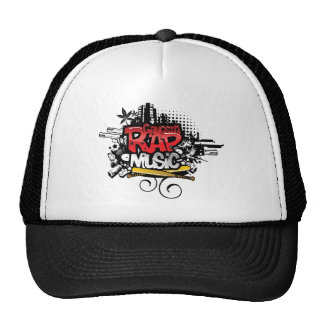 Gangsta Rap Music Trucker Hats