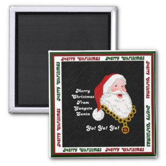 Gangsta Santa Magnet