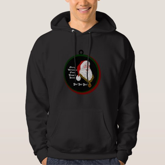 Gangsta Santa Men's Sweatshirt