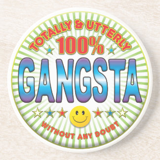 Gangsta Totally Drink Coasters