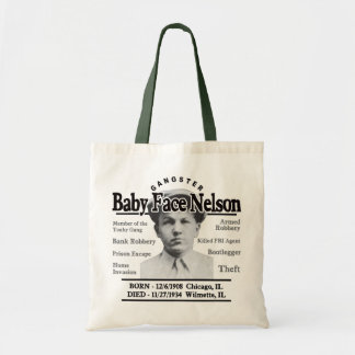 Gangster Baby Face Nelson Bags