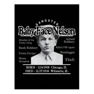 Gangster Baby Face Nelson Post Card