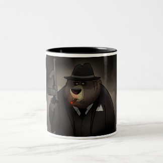 Gangster Bear Mug