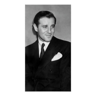 GANGSTER BUGSY SIEGEL POSTER