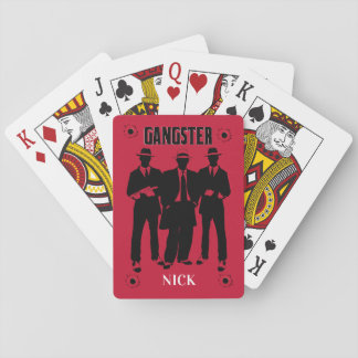 Gangster, Customized Playing Cards