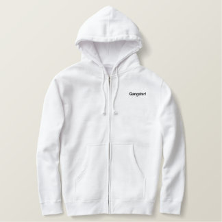 Gangster! Embroidered Hoodie