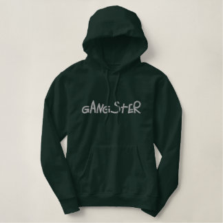 Gangster Embroidered Hoodie