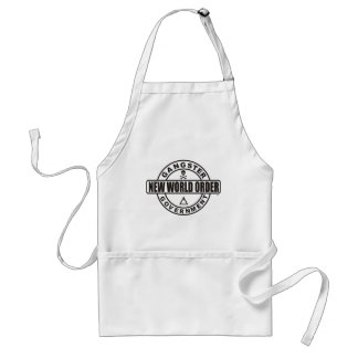 Gangster Government Accessories Apron