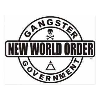 Gangster Government Postcard