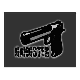Gangster Gun Postcard