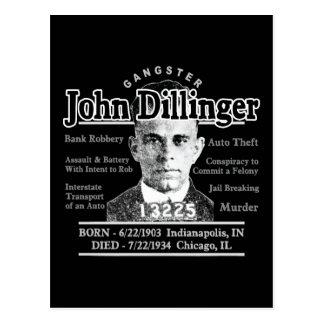 Gangster John Dillinger Postcard