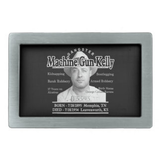 Gangster Machine Gun Kelly Belt Buckles