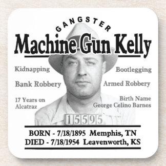 Gangster Machine Gun Kelly Coaster