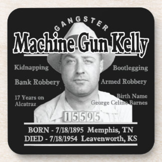 Gangster Machine Gun Kelly Drink Coaster