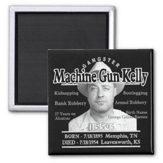 Gangster Machine Gun Kelly Fridge Magnet