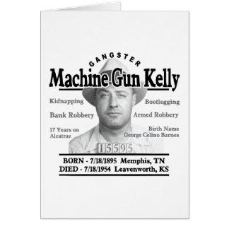 Gangster Machine Gun Kelly Greeting Cards