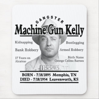Gangster Machine Gun Kelly Mouse Pad