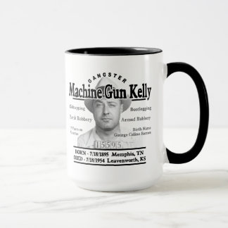 Gangster Machine Gun Kelly Mug