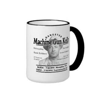 Gangster Machine Gun Kelly Ringer Coffee Mug