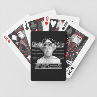 Gangster Machine Gun Kelly Card Deck