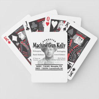 Gangster Machine Gun Kelly Poker Cards