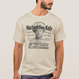 Gangster Machine Gun Kelly T-Shirt