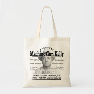Gangster Machine Gun Kelly Budget Tote Bag